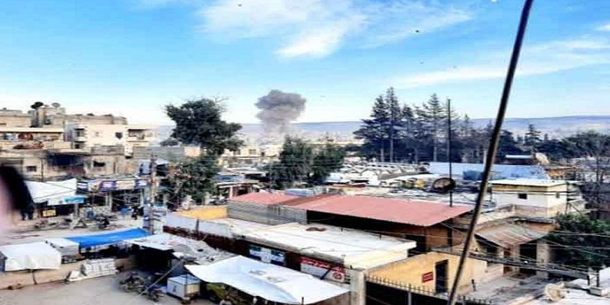 Suriye Afrin'de patlama! 3 ölü