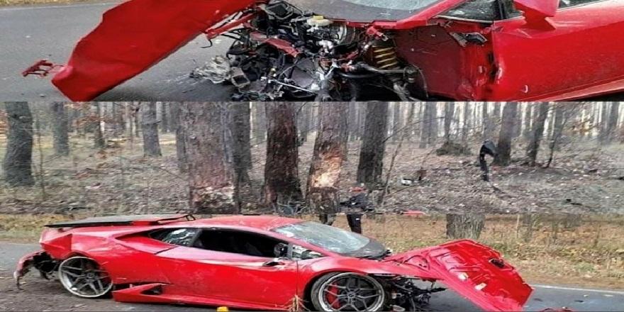 Film setindeki kaza sahnesi gerçek oldu! Film setinde kontrolden çıkan araç paramparça oldu