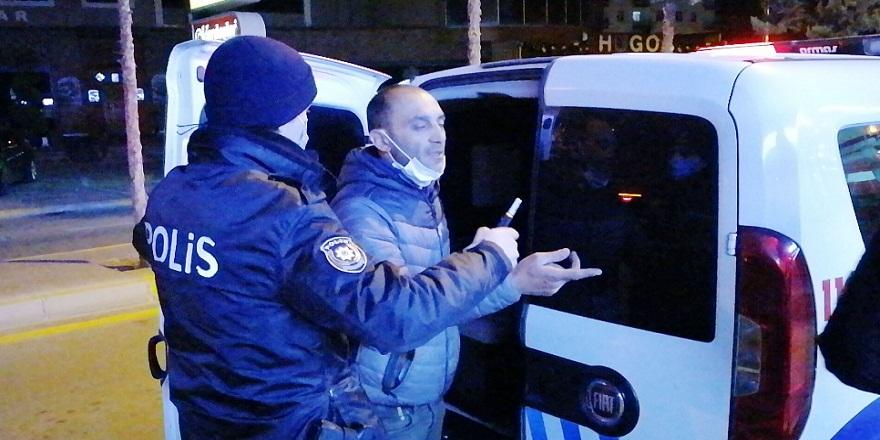 """Aksaray'da alkollü sürücüden ilginç savunma:  """"Ben kötü bir insan değilim, kanun kaçağı da değilim"""""""