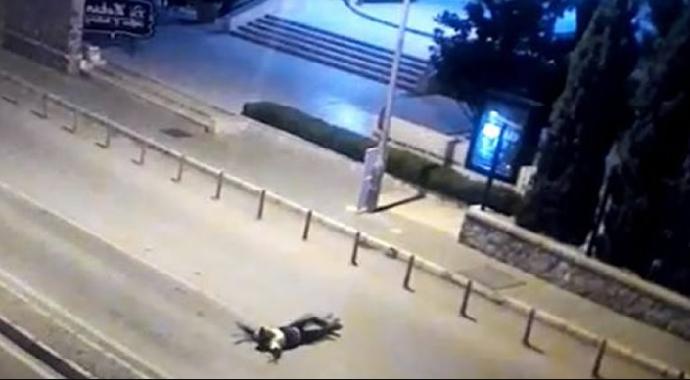 Polis Memuru Metrelerce Sürüklendi!