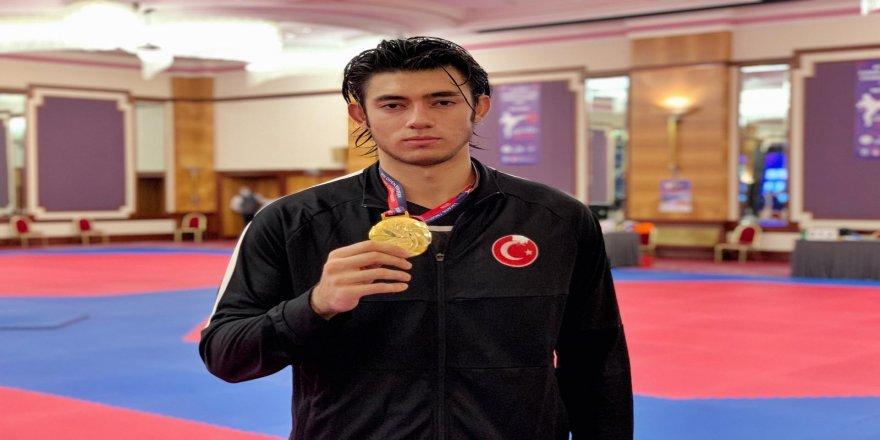 Erkek Taekwondo Milli Takımı,  2 altın ve 1 bronz almayı hak kazandı