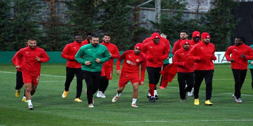 Karabağ maçı için Sivasspor, tüm hazırlıklarını tamamladı