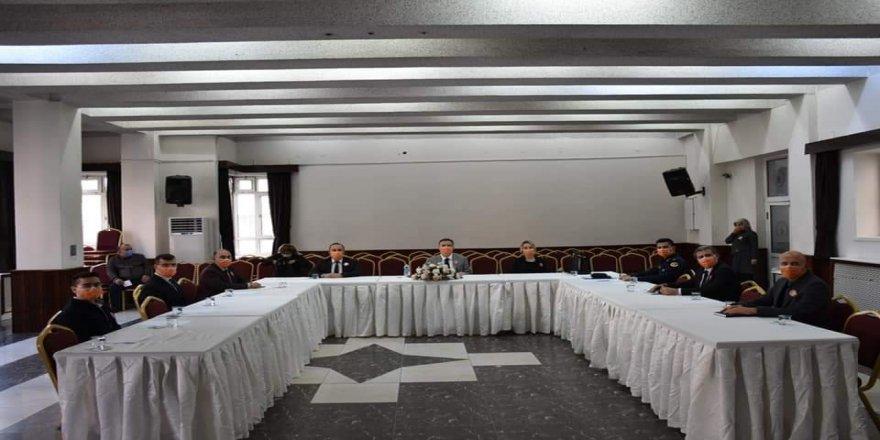 Çorum'da 'Kadına şiddet' konulu toplantı