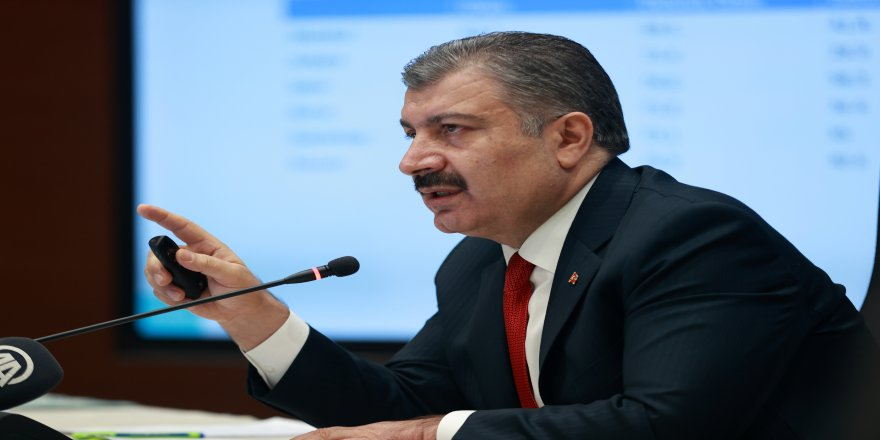 Sağlık Bakanı Fahrettin Koca'dan Bilim Kurulu sonrası açıklama