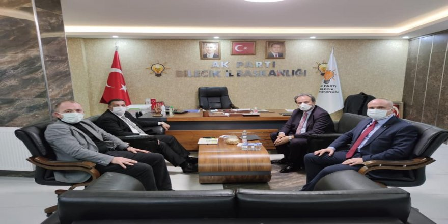 AK Parti Bilecik İl Başkanı Fikret Karabıyık'a, MKYK'den ziyaret
