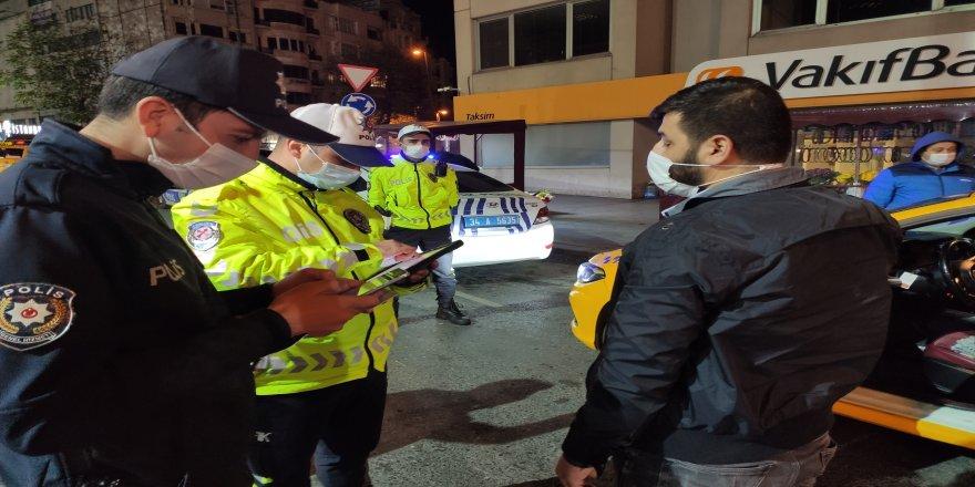 İstanbul'da hava destekli Yeditepe huzur uygulaması