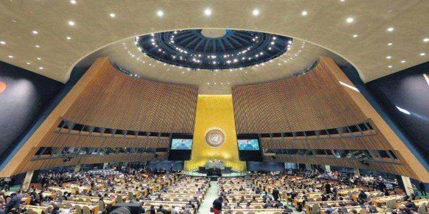 Japonya Dışişleri Bakanı Motegi ile BM Genel Kurul Başkanı Bozkır görüştü