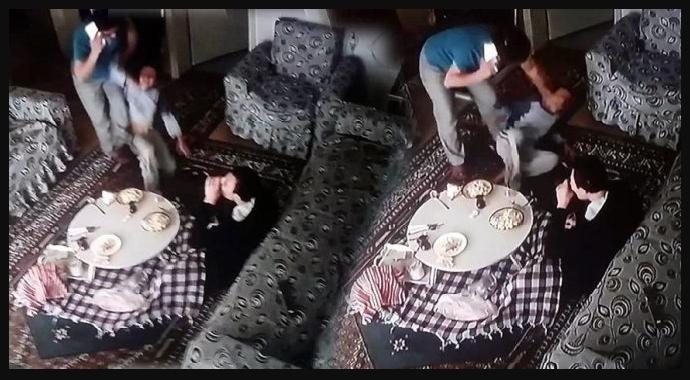 İzmir'de Bakıcı Dehşeti Kameralara Yansıdı