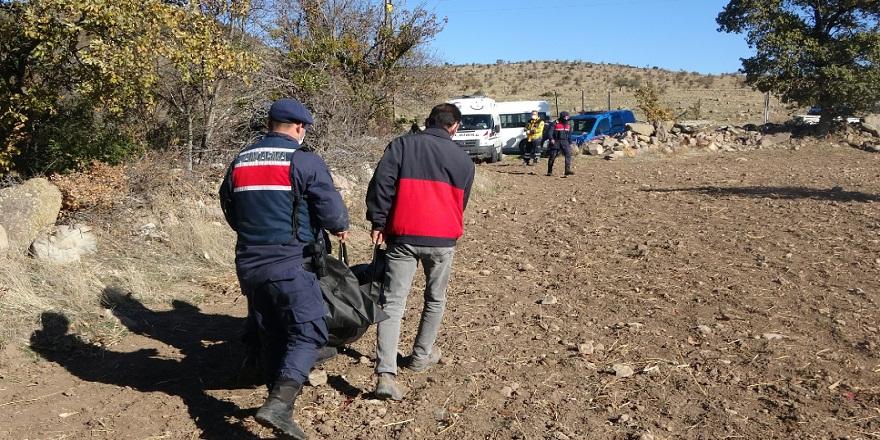 Uşak'ta, 1 haftadır aranan yaşlı kadının cansız bedenine ulaşıldı