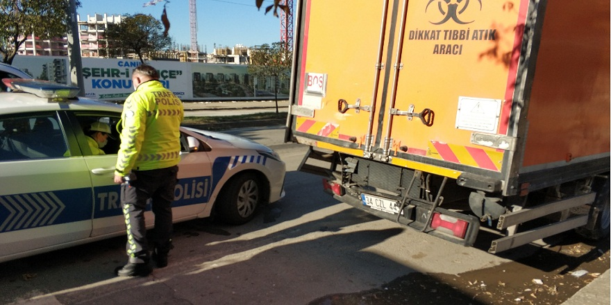 Samsun Canik'de, zincirleme trafik kazası!