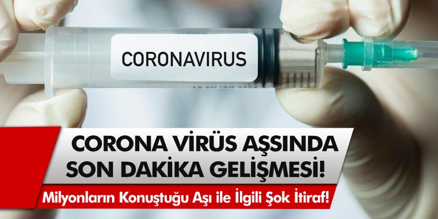 Covid-19 Aşısında Son Dakika Gelişmesi! Milyonlarca İnsanın Konuştuğu Aşı ile İlgili Şok İtiraf! Önemli Bir Hata Yapıldı…