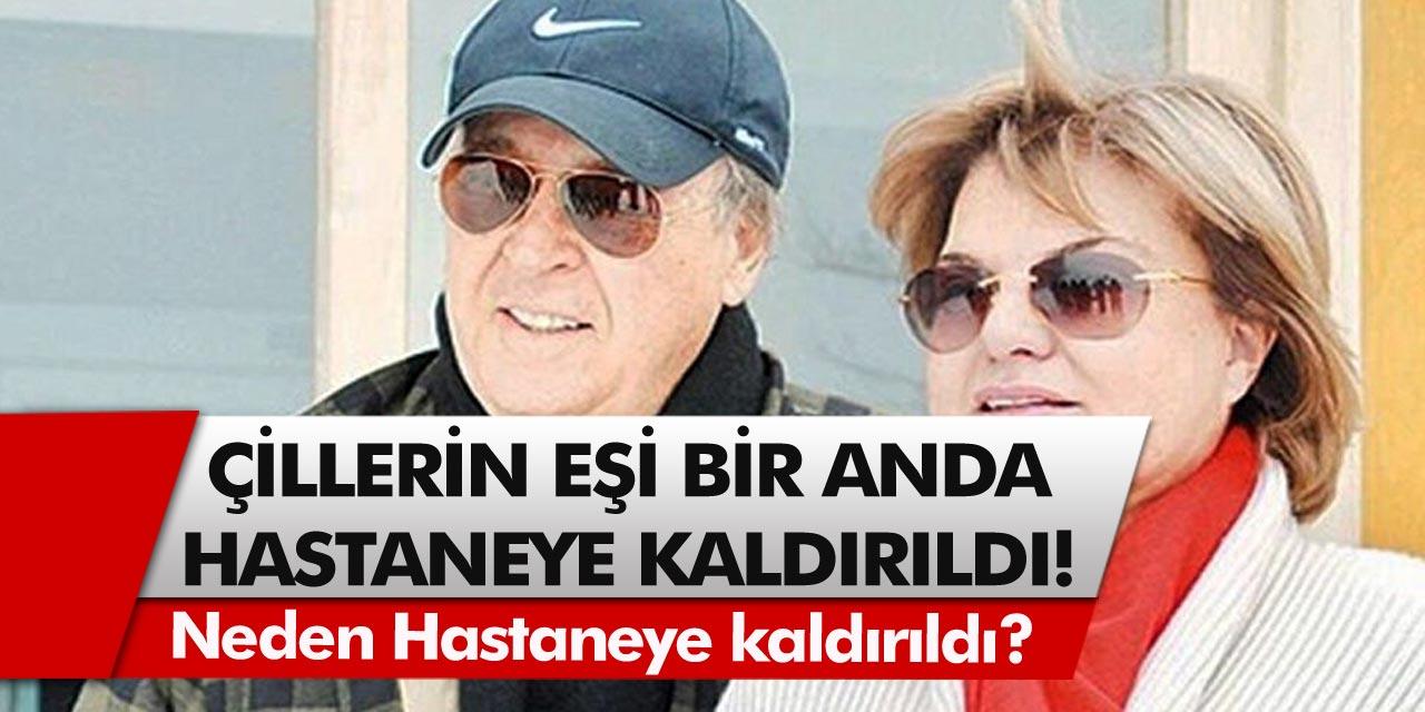 Eski Başbakan Tansu Çiller'in eşi Özer Çiller bir anda hastaneye kaldırıldı! Özer Çiller'in durumu nasıl, neden hastaneye kaldırıldı?