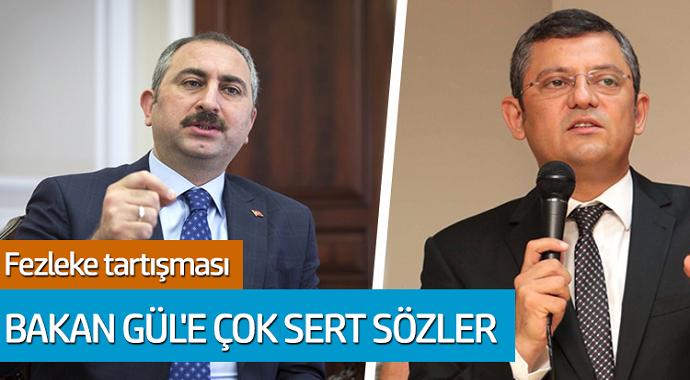 CHP'li Özel'den Bakan Gül'e çok sert sözler