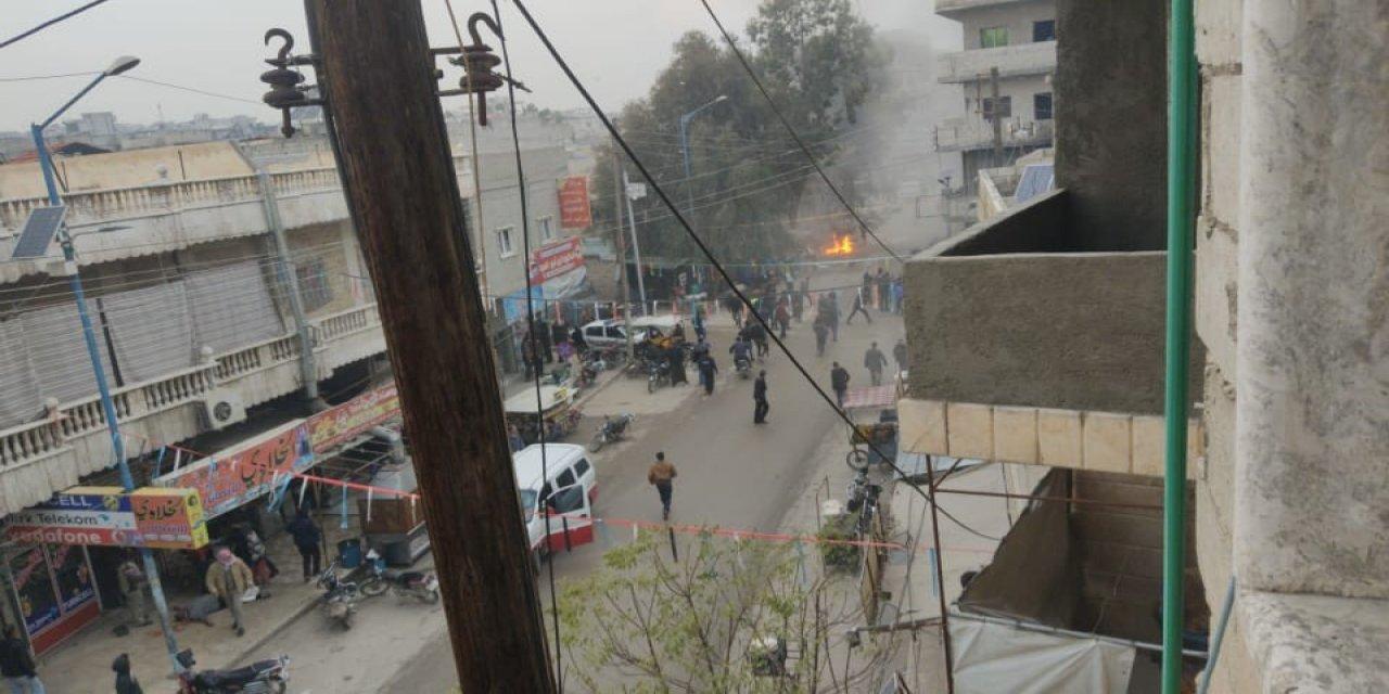 Suriye'nin Halep iline bağlı patlama: 4 yaralı