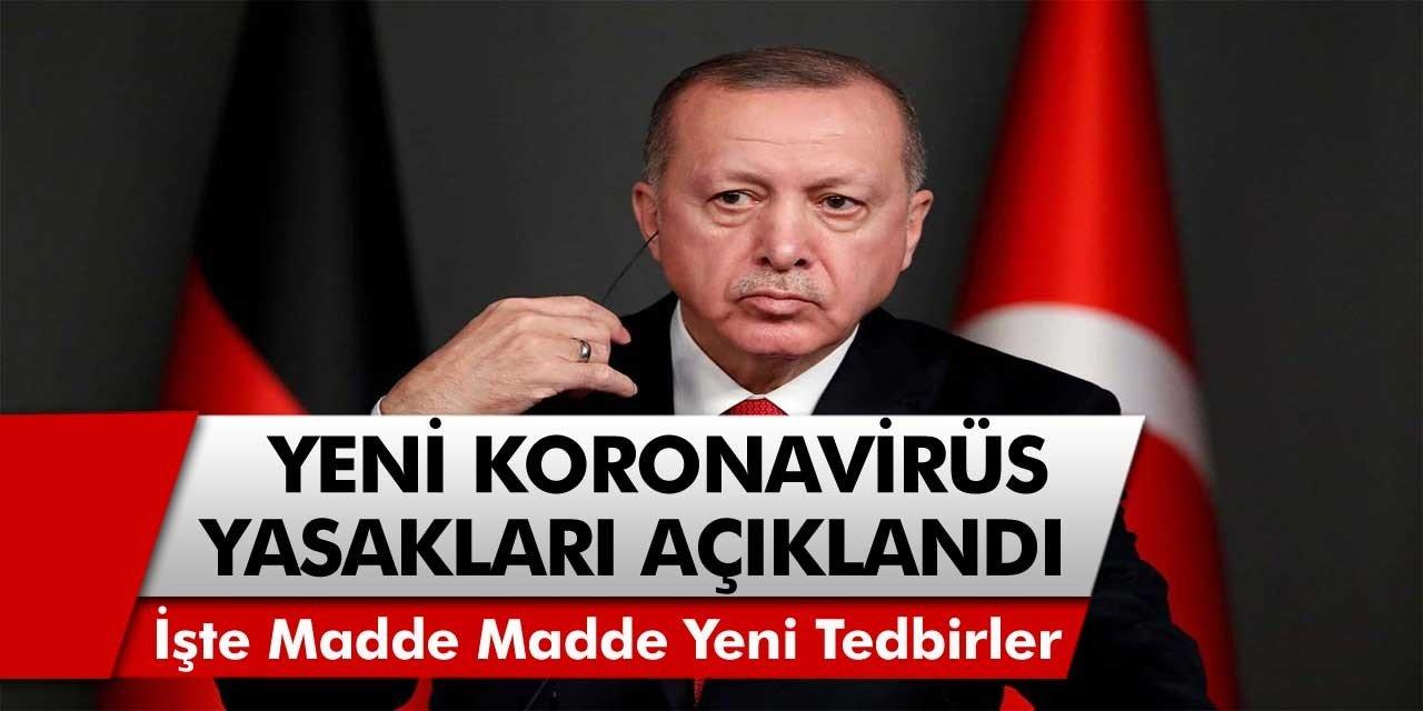 Cumhurbaşkanı Erdoğan Açıkladı: Hafta İçi Sokağa Çıkma Yasağı Olacak Mı? 20 Yaş Altı ve 65 Yaş Üstü Saat Kaçta Dışarı Çıkabilecek?
