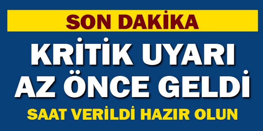 Meteoroloji genel müdürlüğünden kritik hava durumu uyarısı geldi! İstanbul'da kar bekleniyor…