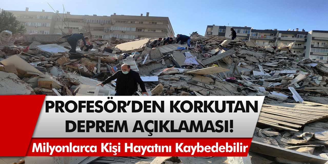 Profesör Doktor Naci Görür'den Büyük İstanbul Depremi İçin Korkutan Açıklama! Milyonlarca Kişi Hayatını Kaybedebilir…