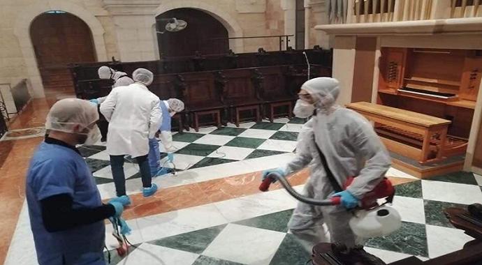 Doğuş Kilisesi korona virüs nedeniyle kapatıldı