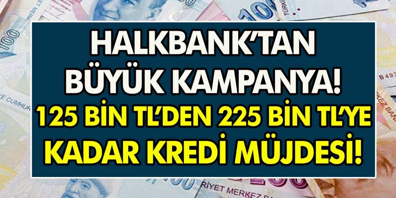 Halkbank'tan müjde! 60 ay vade ile 125 bin kredi başvuruları başladı... Tüm detaylar belli oldu!