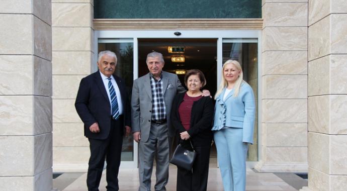 Köksal Toptan Avrasya Üniversitesi'ni gezdi