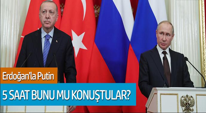 Murat Yetkin: Cumhurbaşkanı Erdoğan'la Putin 5 Saat Bunu mu Konuştular?