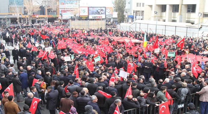 İdlib mazlumlarına destek ve şehadet yürüyüşü
