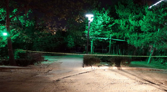 Ankara'da Firari Asker Kendisini Vurdu!