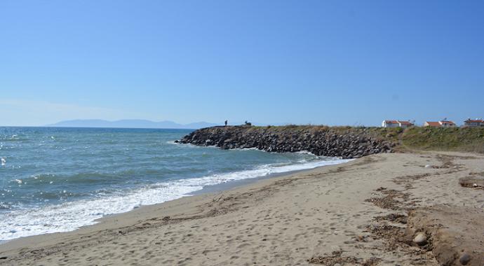 Denizden geçişlere izin verilmeyince düzensiz göçmenler sahilleri boşalttı