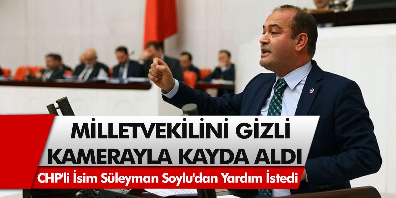 CHP'li isim Özgür Karabat'a seks kasediyle şantaj yapıldı! Karabat, Süleyman Soylu'dan yardım istedi!