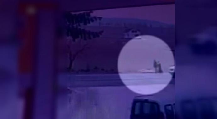Çankırı'da Feci Ölüm Kameralara Yansıdı!