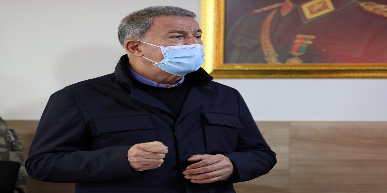 """Milli Savunma Bakanı Akar ve komutanların Azerbaycan dönüşü sınır mesaisinde! Terörü bitirmek konusunda kararlıyız"""""""