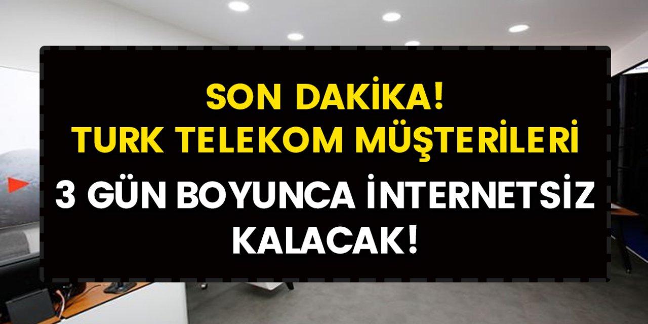 Son Dakika: İnternetler kesilecek! 6 – 7 ve 8 Ocak tarihlerinde 9 il ve 20 ilçede internet kesintisi duyurusu geldi…
