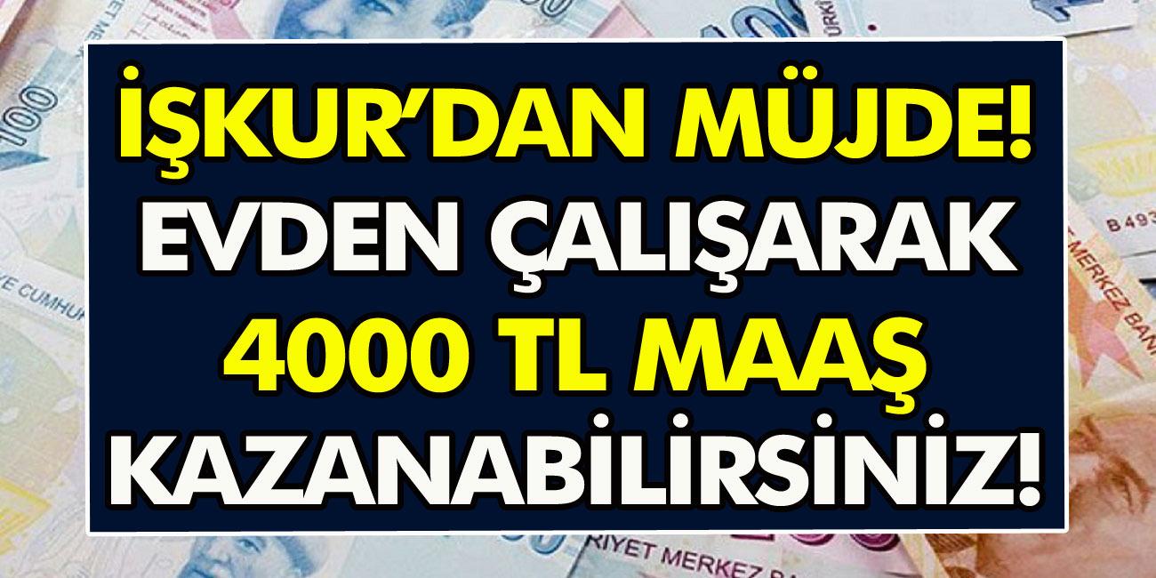 İŞKUR'dan müjde: Aylık 4 bin TL maaşla ilkokul mezunu paketleme işçisi alınacak!