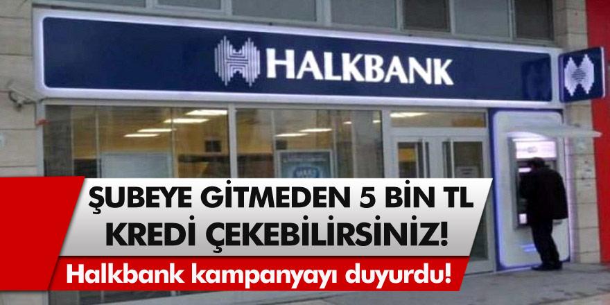 Halkbank'tan müjde: Emeklilere mini kredi fırsatı geldi! Başvuran herkese 5 bin TL…