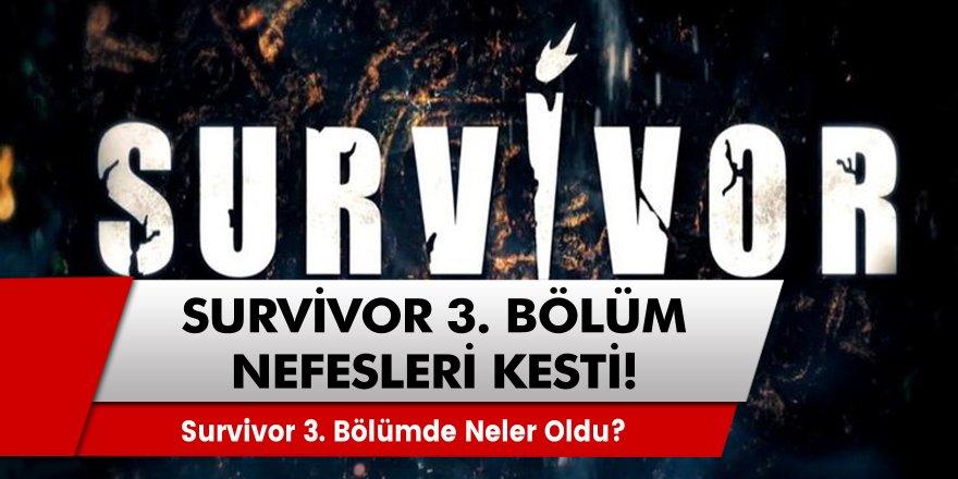Survivor 2021 Ünlüler – Gönüllüler 3. Bölümde neler olacak? Bugün Survivor var mı?