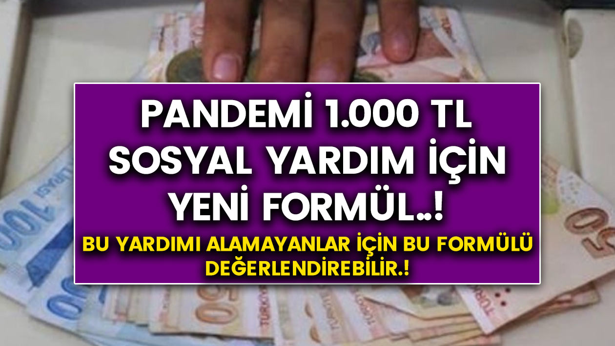 Devlet Herkese Para Yardımı Yapıyor! Bu yardımdan Faydalanmak İçin Yapmanız Gereken Tek Bir Şey Var…
