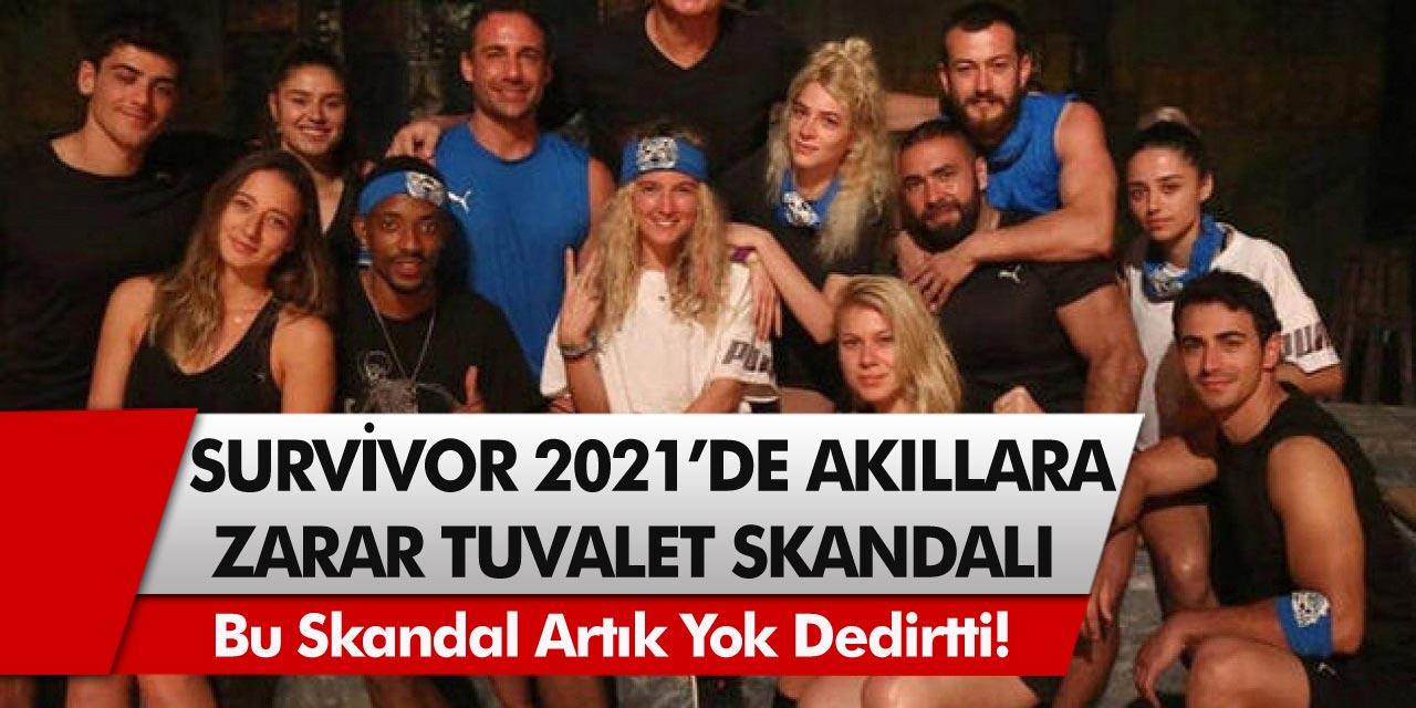 Survivor 2021'den akıl almaz itiraflar… Bu skandal artık yok dedirtti! Tuvaletlerini yaparken göz göze…