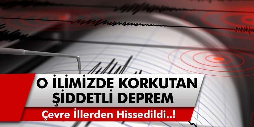 İzmir'de Son Dakika: Deprem Oldu, Halk Sokağa Döküldü... Korkutan İzmir Depremi...