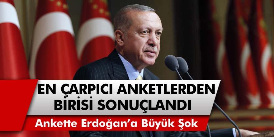 Anket Sonuçları Açıklandı... Cumhurbaşkanı Erdoğan'a Soğuk Duş! 2 Aday da Geride Bıraktı