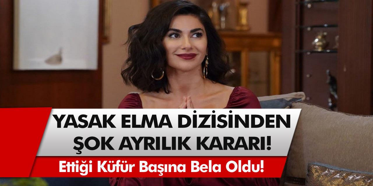Yasak Elma'dan şok ayrılık kararı! Ettiği küfür Nesrin Cavadzade'nin başına bela oldu…