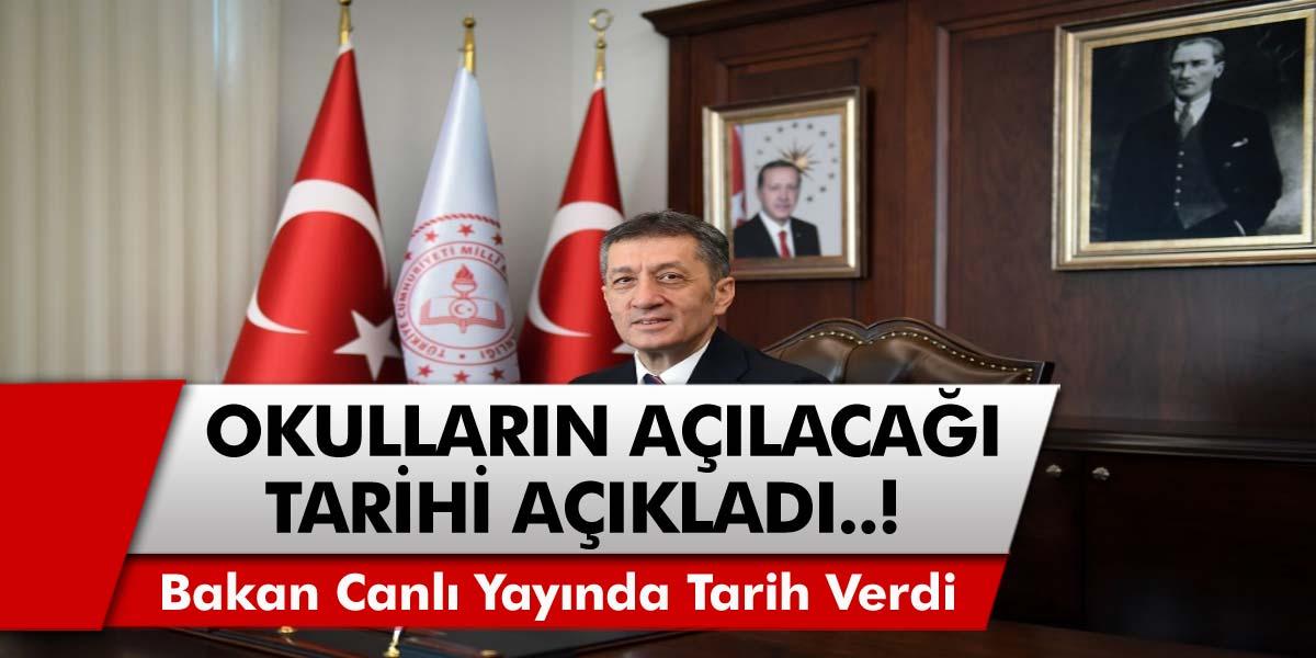 Milli Eğitim Bakanı Selçuk ve Cumhurbaşkanı Erdoğan'dan Açıklama! Okullar İkinci Dönem Yüz Yüze Eğitime Geçecek Mi?