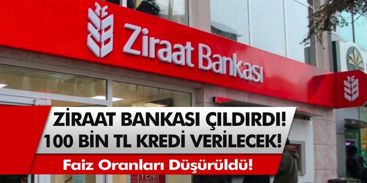 Ziraat Bankası Çıldırdı! Faiz Oranları Düşürüldü, Bankaların Önünde Uzun Kuyruklar Oluştu! Resmen Başvuru Rekoru Kırdı...