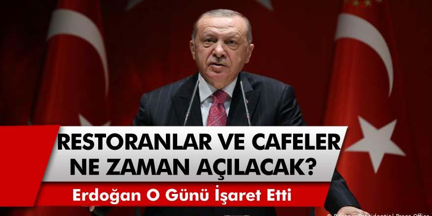 Recep Tayyip Erdoğan'dan Flaş açıklama! Restoranlar ve Cafeler ne zaman açılacak? Sincar operasyonu, kısıtlamalar ve erken seçim geliyor mu?
