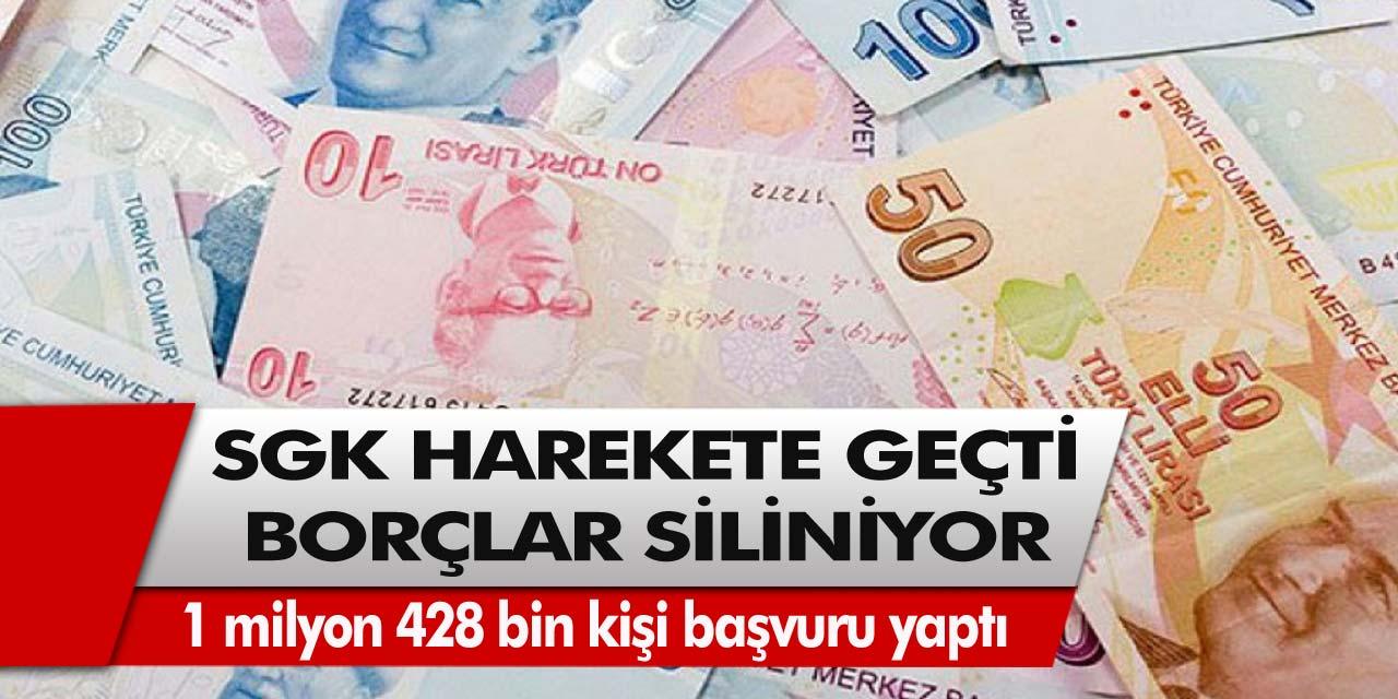SGK'dan müjde! 1 milyon 400 bin borç silinecek! Detaylar bugün belli oldu…