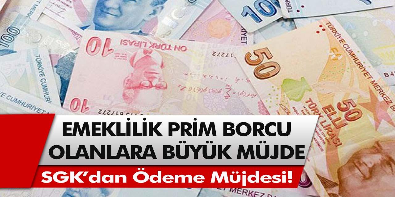 SGK'dan ödeme müjdesi! Emeklilik prim borcu olanlara müjde geldi… Başvuran herkes parasını alacak…