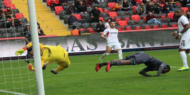 Gaziantep FK 1-1 Trabzonspor Maç Sonucu