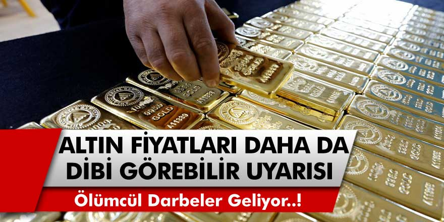 Altın analistlerinden uyarı geldi! Ölümcül darbeler geliyor ve altın daha da dibi görebilir… Altın fiyatları neden düşüyor?