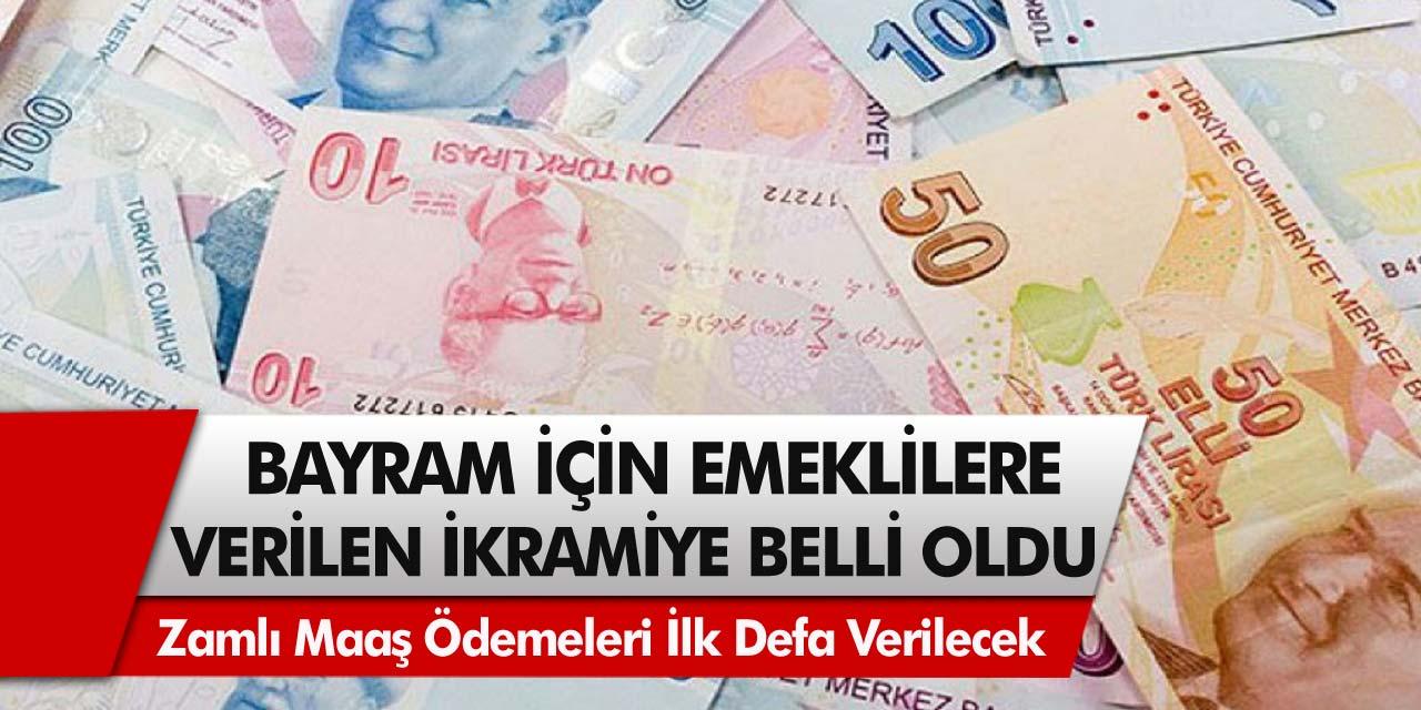 Zamlı maaş ödemeleri ilk defa verilecek: Bayram için emeklilere verilen ikramiyenin detayları açıklandı…