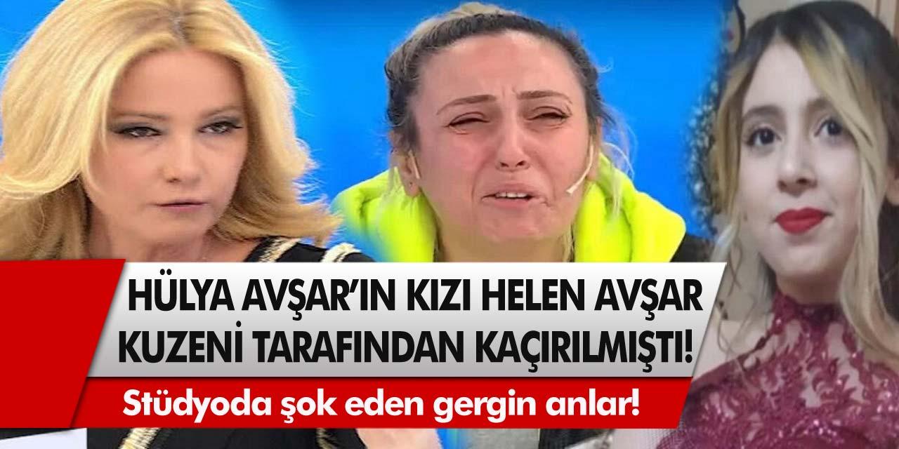 Stüdyoda şok eden gergin anlar! 15 yaşındaki Hülya Avşar'ın kızı Müge Anlı ile Tatlı Sert ekibi sayesinde bulundu…