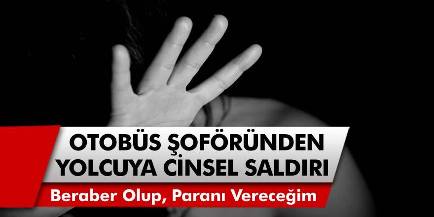 İstanbul'da akıl almaz olay! Halk otobüs şoföründen yolcusuna cinsel saldırı: Beraber olup, paranı vereceğim…